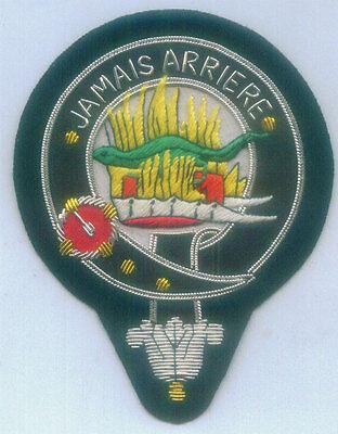 Royal Scottish Scotland Clan Crest Heraldry Family Name Douglas Arms COA Patch G