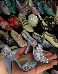 Miniature shoe collectables