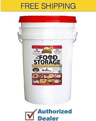 New 1 Augason Farms 30 Day Food Storage Emergency All-in-One Pail Water & (30 Day Food Storage Emergency All In One)