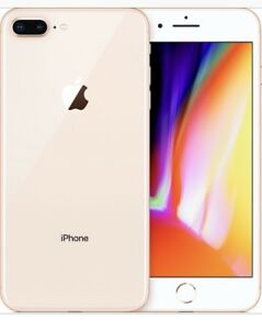 Iphone 8 plus  (64g, rose gold)
