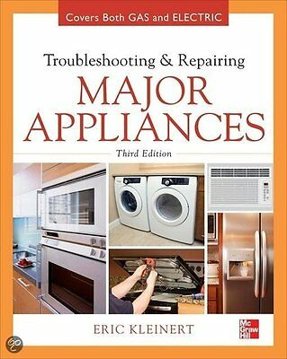 Troubleshooting And Repairing Major Appliances  E Book Pdf