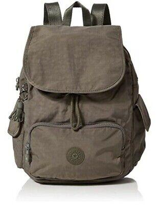 NEW Kipling City Pack S Seagrass backpack Rucksack Rrp£87