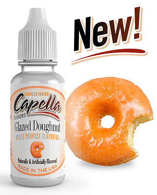 Capella Flavoring Glazed Doughnut Flavor Concentrate 13ml water baking coffee