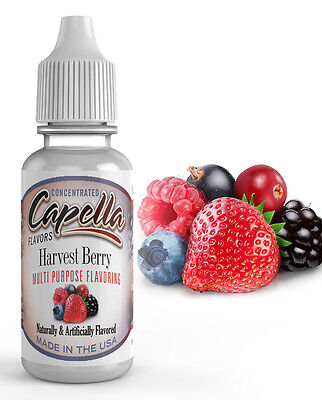 Capella Flavoring Harvest Berry Flavor Concentrate 13ml water baking coffee