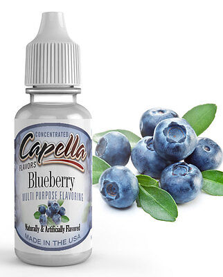 Capella Flavoring Blueberry Flavor Concentrate 13ml Vape protein shake water
