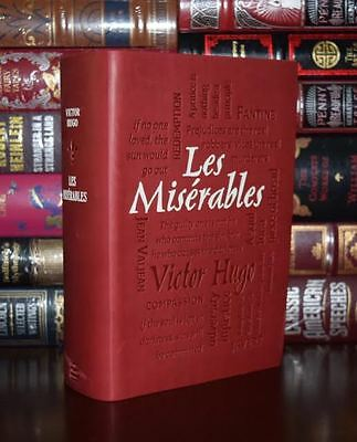 Les Miserables by Victor Hugo Unabridged Deluxe Soft Leather Feel Edition - Les Miserables Books
