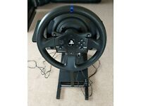 Thruatmaster t-300rs Racing wheel with fully adjustable stand