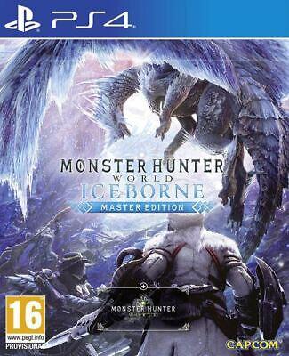 Monster Hunter World: Iceborne - Master Edition (PS4)  BRAND NEW AND SEALED