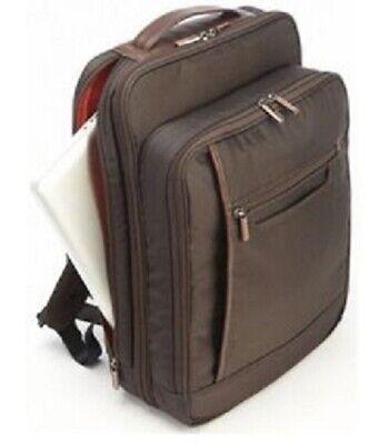 Nylon Computer Briefcase (New KORCHMAR Z5211 Alexander Nylon Computer Backpack Briefcase $248 )