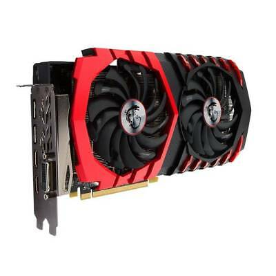 MSI AMD Radeon RX 580 GAMING X 4G GDDR5 DVI/2HDMI/2Displayport pci-e Video