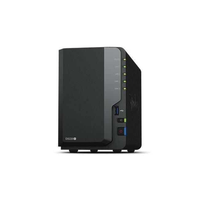 Synology DiskStation DS220+ 2-Bay Desktop NAS