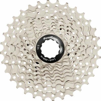 SunRace Kassette Zahnkranz 8-fach silber CSR86 11-28 oder 11-32 Fahrrad