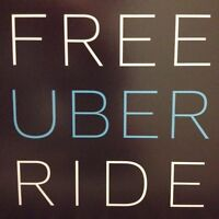 FREE UBER RIDE - up to $15