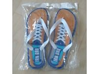 Irn Bru Flip Flops - Brand New, 11 pairs, £5 each or £40 the lot, fit up to size 9.5