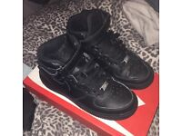 Nike air force one high tops size 5