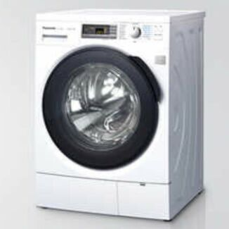 As new 10 kg front load steam washing machine