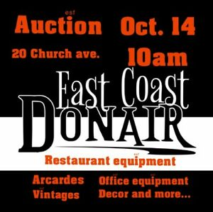 Restaurant Equipment and Vintage items Auction