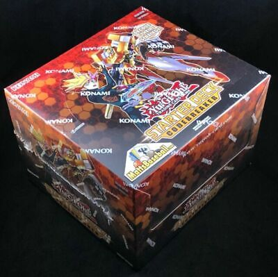 YUGIOH Starter Deck Codebreaker 1st Edition DISPLAY BOX SEALED YS18  BEST (Best New Yugioh Decks)