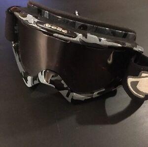 Winter Camo Snowboard Goggles