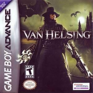 GBA: Van Helsing 5$/Digimon 22$/Charlie&chocolatery 30$