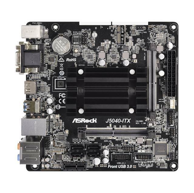 ASROCK J5040-ITX Intel Quad-Core Pentium Silver J5040 3.2GHz/ DDR4/