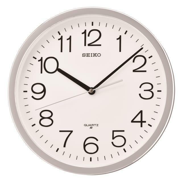 new 12 2 round wall clock