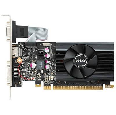 MSI NVIDIA GeForce GTX 710 2GB GDDR5 VGA/DVI/HDMI Low Profile pci-e Video