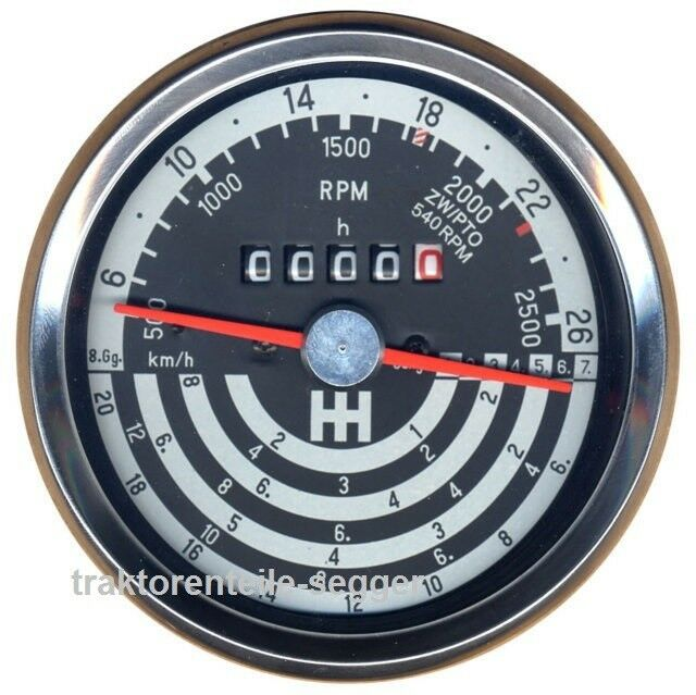 Traktormeter für IHC  433 533 633 733 Schlepper Traktor 297 Foto 1