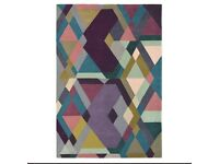 Ted Baker mosaic light purple rug