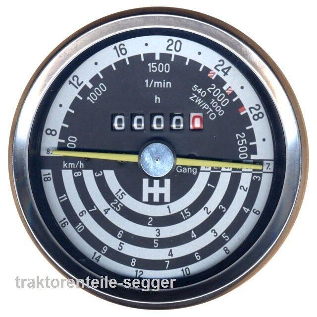 Traktormeter für IHC  Schlepper Traktor 296 Foto 1