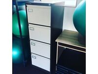 2 USED FILING CABINETS