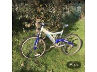 Barracuda mountain bike full suspension