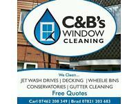 Window/Gutter/Driveway/Patio cleaning