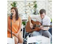 Getting married or having an intimate party? Experienced versatile Acoustic Duo