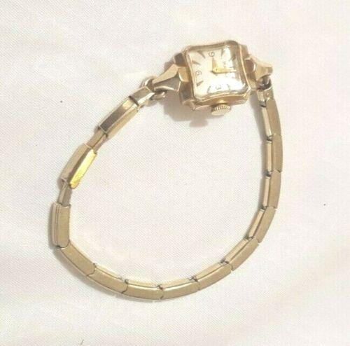 Vintage Bulova 10kt Gold Filled Ladies Watch