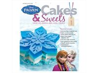 Disney Cakes & Sweets FROZEN SPECIAL Issue 1 Mini Series SNOWFLAKE MOULD