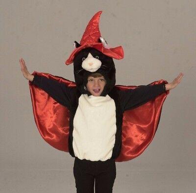 KarnevalsTeufel Kater Zauberer Katze 92 Edel-Plüsch Fasching Halloween - Kater Kostüm Halloween