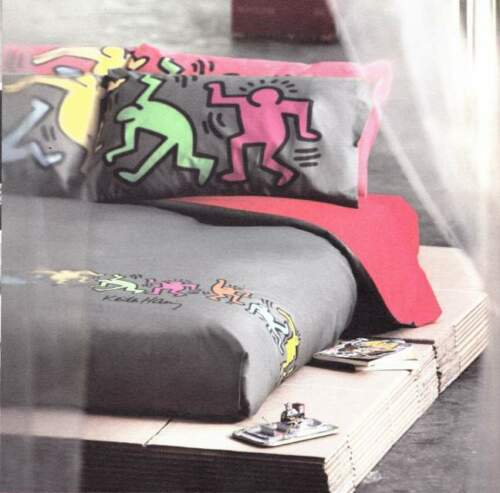 Quilt - Trapuntino estivo. KEITH HARING. Singolo,...
