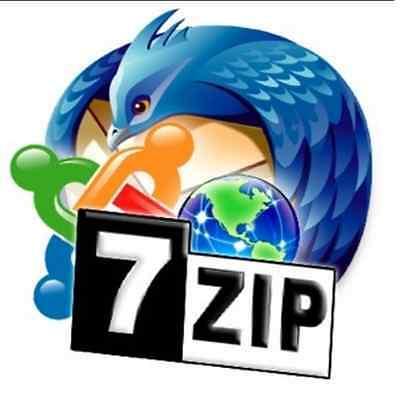 7 Zip Winzip Winrar Unzip Software Winzip Alternativ Cd