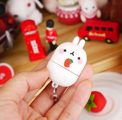 Molang 8GB USB 2.0 Memory Stick Strawberry Cute Flash Drive Storage Disk Key