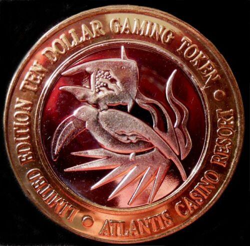 "RARE / Atlantis Casino - ""Toucan / Angel Fish"" - ERROR / Reno, NV"