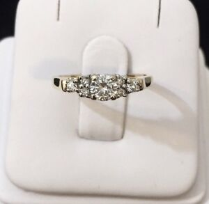 14K Gold Diamond Engagement Ring *Compare @ $2,200
