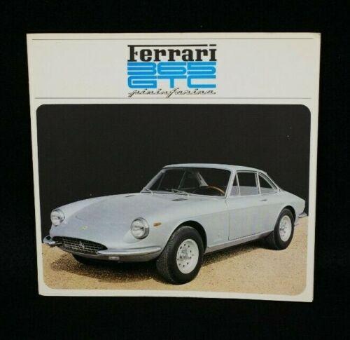 Original Ferrari 365 GTC Brochure