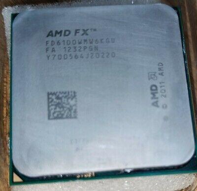 CPU AMD FX-6100 Six Core 3.3GHz Socket AM3+ Processor