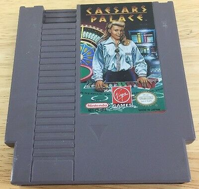 Caesars Palace  Nintendo Entertainment System  Nes Tested Fast Shipping
