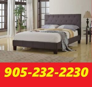 SINGLE DOUBLE OR QUEEN SIZE UPHOLSTERED BED ONLY $299.00