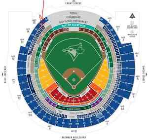 Early access - Blue Jays Wildcard Game - 4 Tix, Sec 543 Row 8