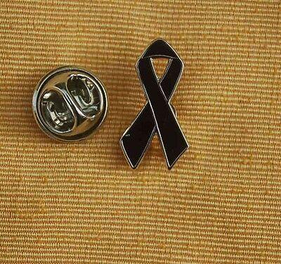 Schwarze Schleife Trauerschleife Trauer Pin Badge Anstecker Anstecknadel