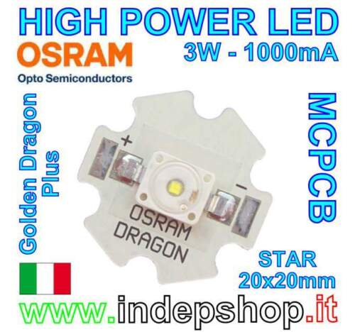 Power LED OSRAM - Pcb Star - Led per plafoniere...