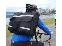 SuitSak including SuitSak Rain Cover (Black) - The cyclists garmet bag